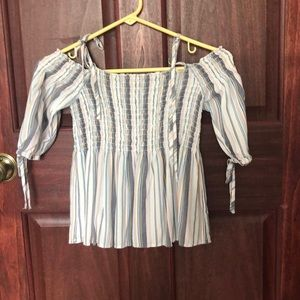 Striped Tie-top from Aeropostale